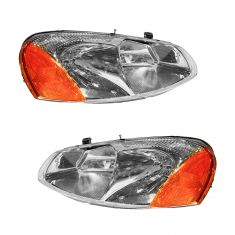 2001-03 Sebring Convertible & Sedan; 01-06 Dodge Stratus Sedan Headlight Pair