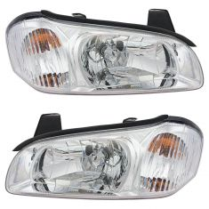 2000-01 Nissan Maxima Headlight Pair