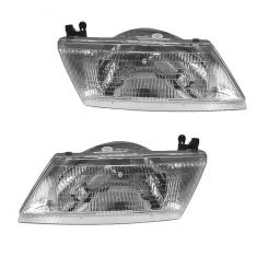 1995-98 Nissan Sentra Headlight Pair