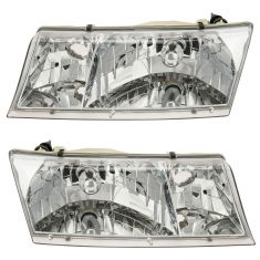 1998-02 Grand Marquis Headlight Pair