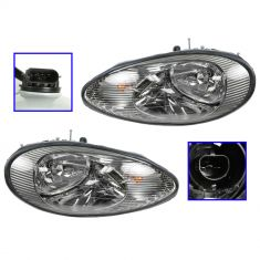 1996-99 Sable Headlight Pair