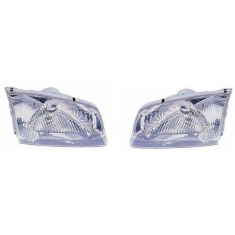 2000-02 Mazda 626 Composite Headlight Pair