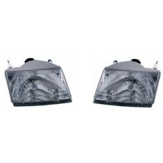 2001-03 Mazda PU Composite Headlight Pair