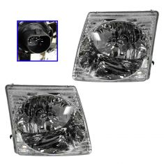 01-05 Ford Sport Trac Headlight PAIR