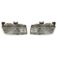 1990-94 Lumina Car Composite Headlight Pair
