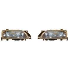 1989-92 Geo Prizm Composite Headlight Pair