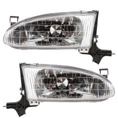 98-02 Prizm Headlight Pair