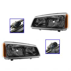03-05 Chevy Silverado Headllight Pair