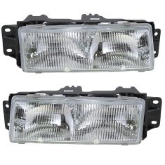 91-96 Oldsmobile Ciera Headlight Pair