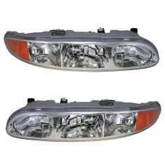 99-04 Oldsmobile Alero Headlight Pair