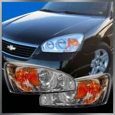 04-07 Chevy Malibu / Maxx Headlight Pair