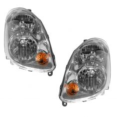 03-04 Infinity G35 Sedan Halogen Style HL Pair