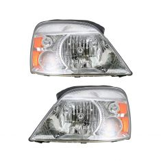 2004-07 Ford Freestar Mercury Monterey Headlight PAIR