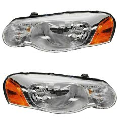 2004-06 Chrysler Sebring Conv & Sedan Headlight Pair