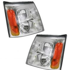 03-06 Cadillac Escalade - ESV - EXT Headlight Pair