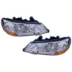 02-03 Acura TL HID Headlight Pair