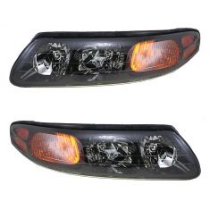 00-04 Pontiac Bonneville Headlight PAIR