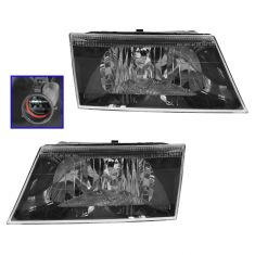 03-04 Mercury Marauder Headlight Pair