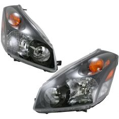 04-07 Nissan Quest Headlight Pair