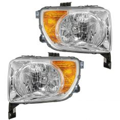 2003-04 Honda ELEMENT HEAD LAMP Pair