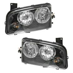 06-07 Dodge Charger Headlight Pair