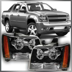 07-12 Chevy Suburban Avalanche Tahoe Headlight Pair