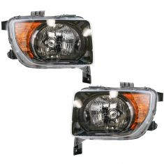 07-08 Honda Element EX & LX Headlight PAIR