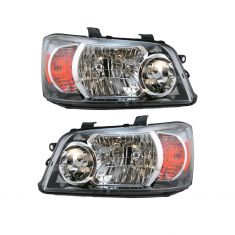 04-06 Toyota Highlander Headlight Pair