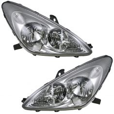 02-03 Lexus ES300 ; 04 (to 5/04) ES330 HID Headlight Pair (w/o Bulbs & w/o Ballast)