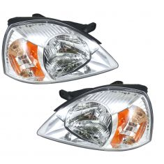 2003-05 Kia Rio Sedan Headlight Pair