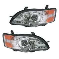 06-07 Subaru Legacy Outback Headlight Pair