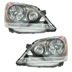 08-10 Honda Odyssey Headlight Pair