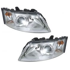 03-07 Saab 9-3 Halogen Headlight Pair
