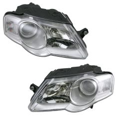 06-09 VW Passat Headlight Pair