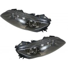 06-08 Mazda 6 Halogen Headlight Pair