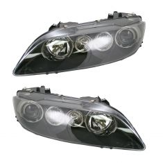 06-08 Mazda 6 Sport Halogen Headlight Pair