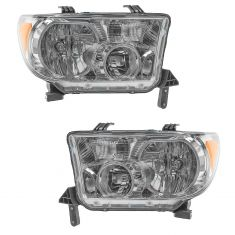 07-11 Toyota Tundra Sequoia Headlight Pair