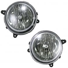 07-08 Jeep Compass Patriot Headlight Pair