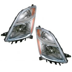 06-09 Toyota Prius Halogen Headlight (from 11-06 Prod Date) PAIR