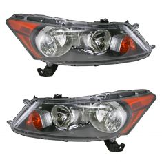 08-11 Honda Accord Sedan Headlight Pair