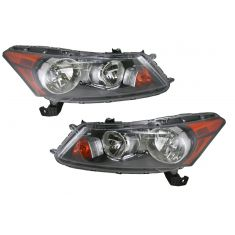 08-09 Honda Accord Sedan Headlight Pair