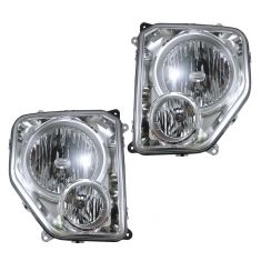 08-09 Jeep Liberty w/fog Headlight Pair