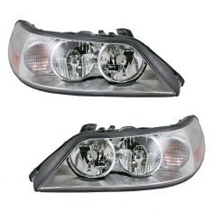 05-11 Lincoln Town Car Headlight HID Pair