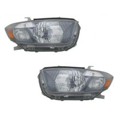 2008-09 Toyota Highlander Headlight Pair (Sport)