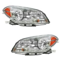2008-12 Chevy Malibu Headlight Pair