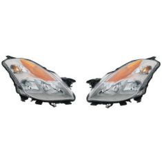 2008-09 Nissan Altima Coupe HID Headlight Pair
