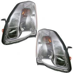 04-06 Nissan Maxima Halogen Headlight Pair