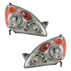 05-06 Honda C-RV Headlight Pair (Built in UK)