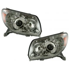 06-07 Toyota 4 Runner Headlight for Limited SR5 Model Pair