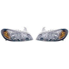 00 Infiniti I30 w/Touring Pkg Headlight PAIR